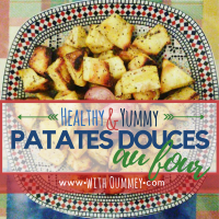 Healthy & Yummy | Patates Douces au Four