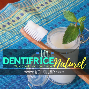 [DIY] Dentifrice Naturel Coco-Bicarbonate avec 3 ingrédients, seulement ! with Oummey | www.withoummey.com |