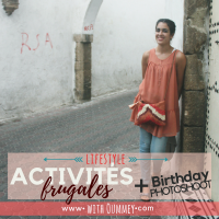 Lifestyle | Activités Frugales + Birthday Photoshoot