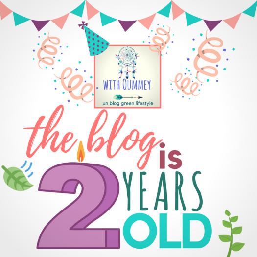 Le blog a 2 ans ! récap des articles ! withoumey.com with Oummey