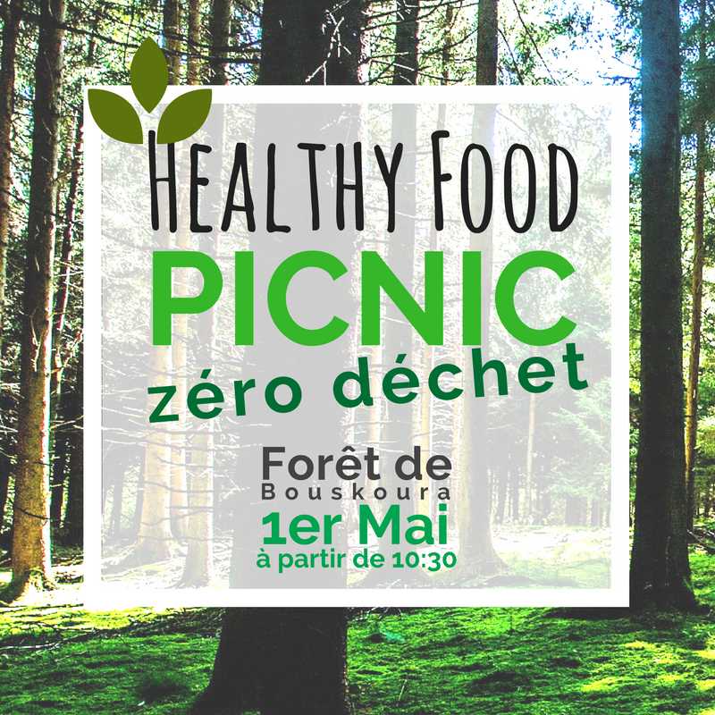 "🌳 Confirmation de participation au ""Healthy Food Picnic + 0 déchet"" 🌳"
