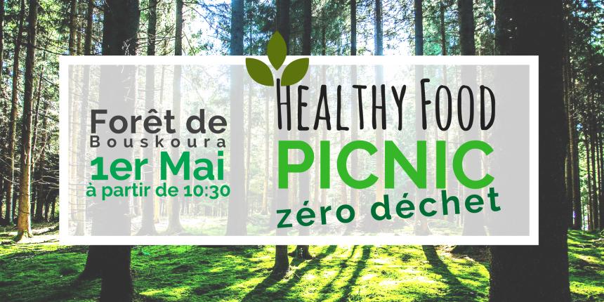 healthy food picnic zéro déchet withoummey.com with Oummey